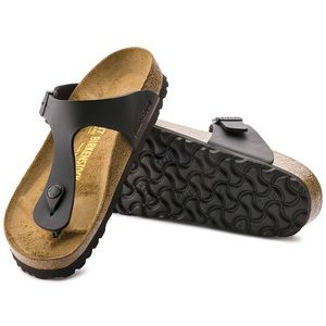 Birkenstock Gizeh Black Sandal